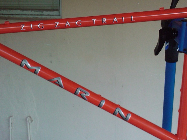 1994 Marin Zig Zag Trail With New Paint Job Mtbr Com