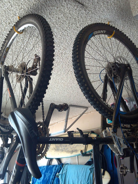 Garage Bike Storage I Need Ideas Mtbr Com