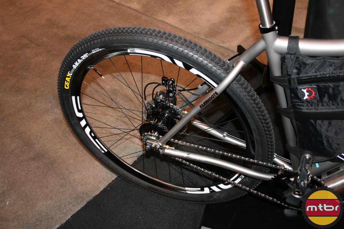 Moots Tour Divide bike