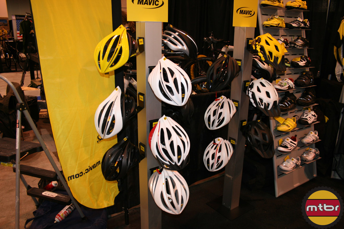 Mavic Road and MTB helmets