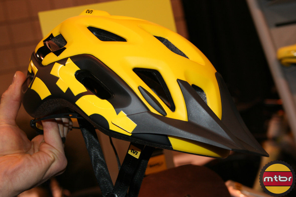 NAHBS: Mavic Notch Helmet