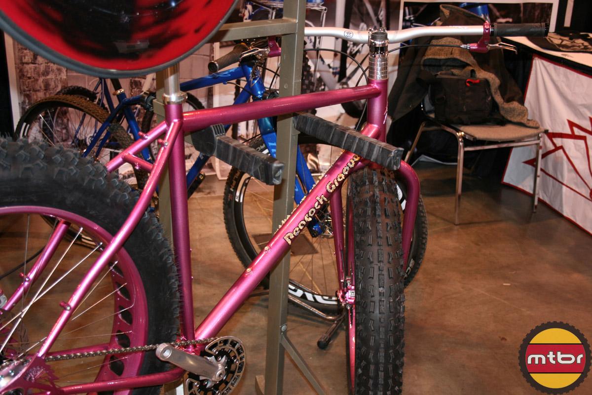 Peacock Groove fat bike