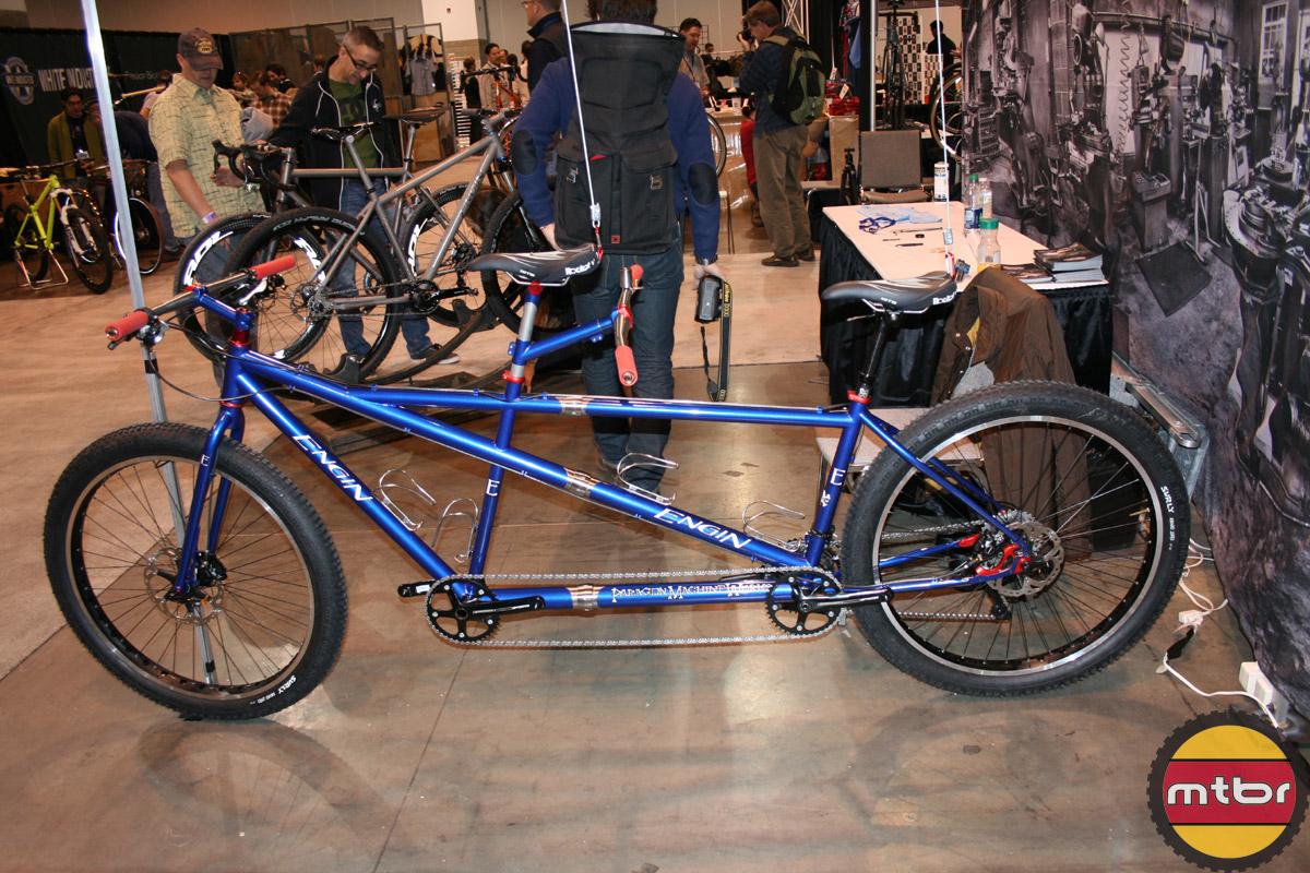 Engin tandem fat bike