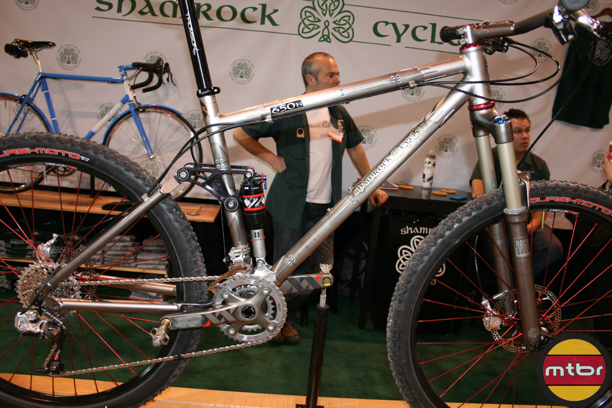 Shamrock Cycles 650b full susser