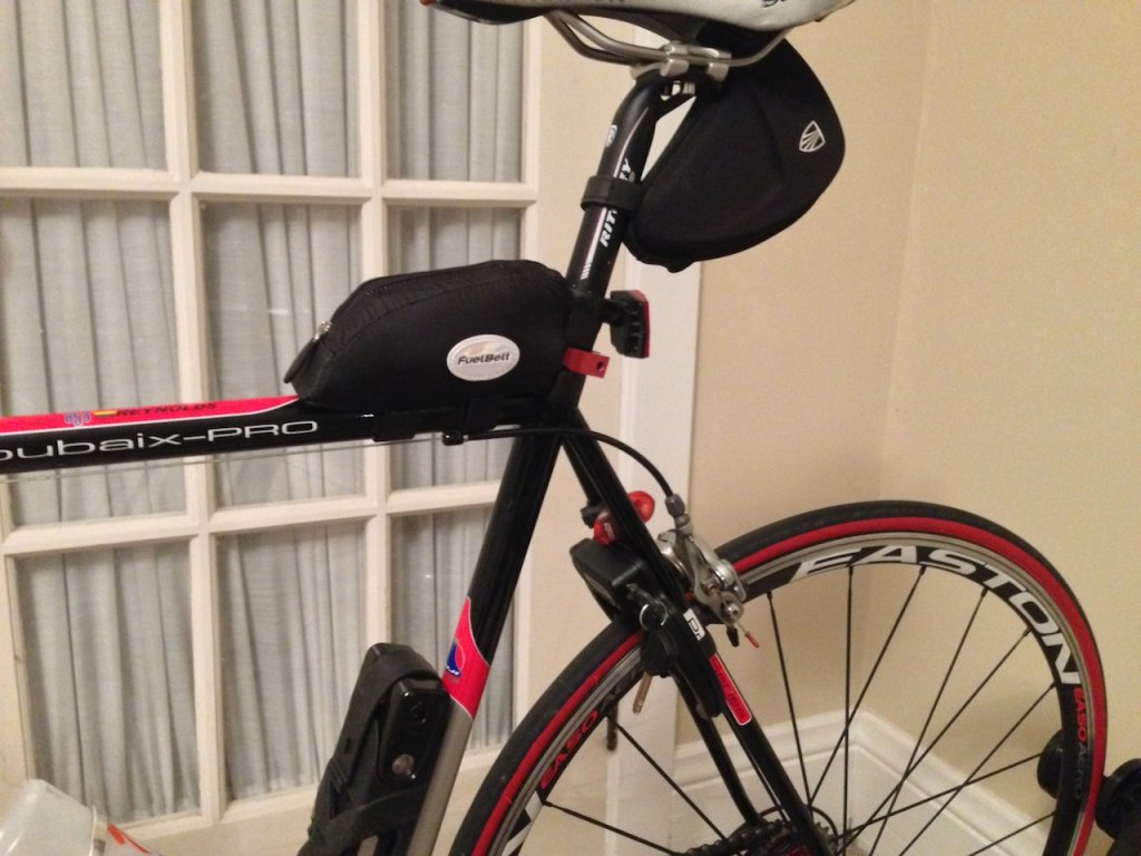 Bike Pack That Mounts Where A Water Bottle Cage Would Mount With