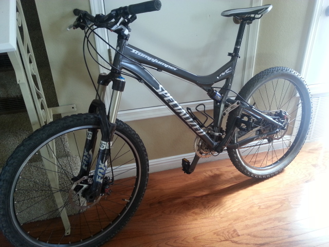 New old stumpjumper for me! Thanks 29ers-20130210_132502.jpg