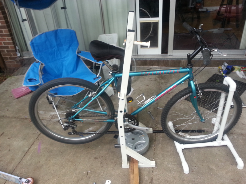 Bike Repair Stand Diy Mtbr Com