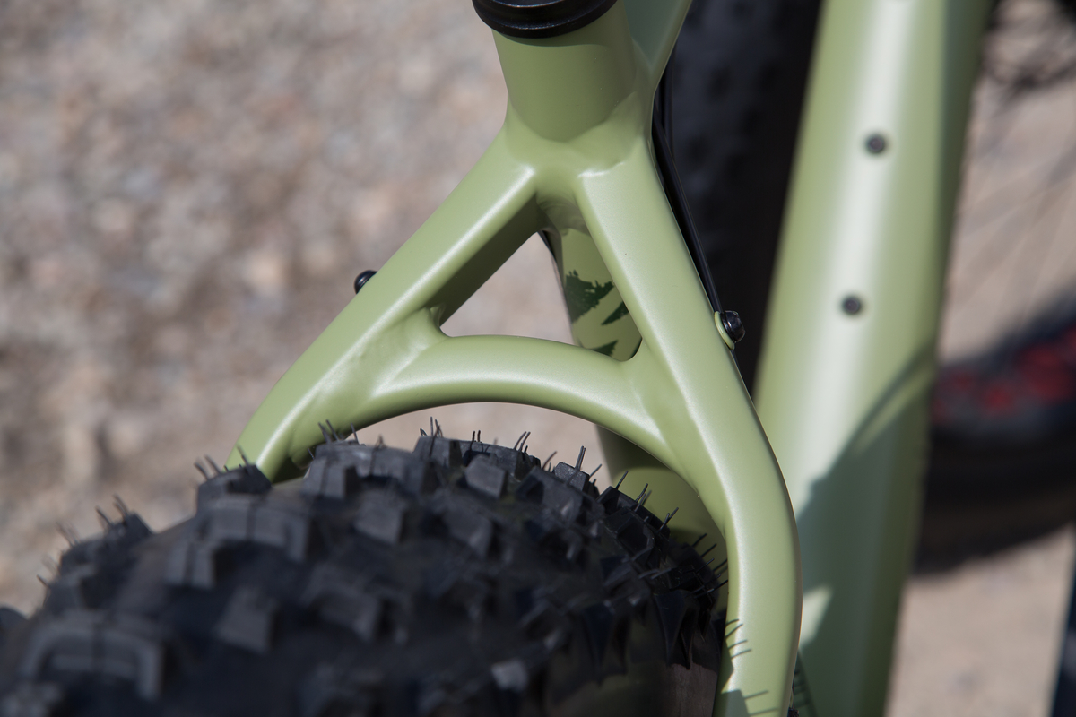 Specialized Fatboy Rear Tire Clearance
