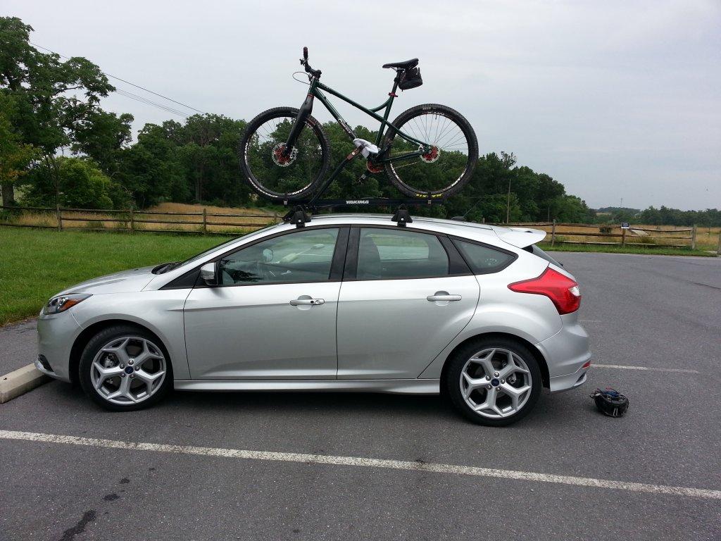 Bike Rack For The Focus St Mtbr Com