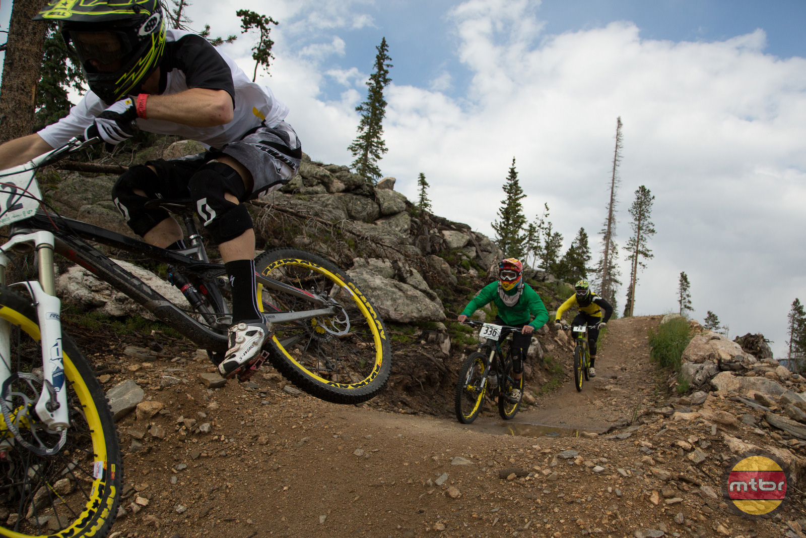 Stages Power Meter in Winter Park Enduro World Series Race