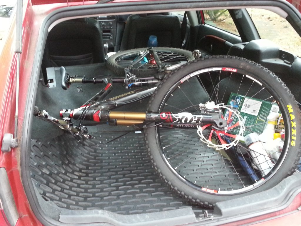 Does Your Mountain Bike Fit Travel In Your Car