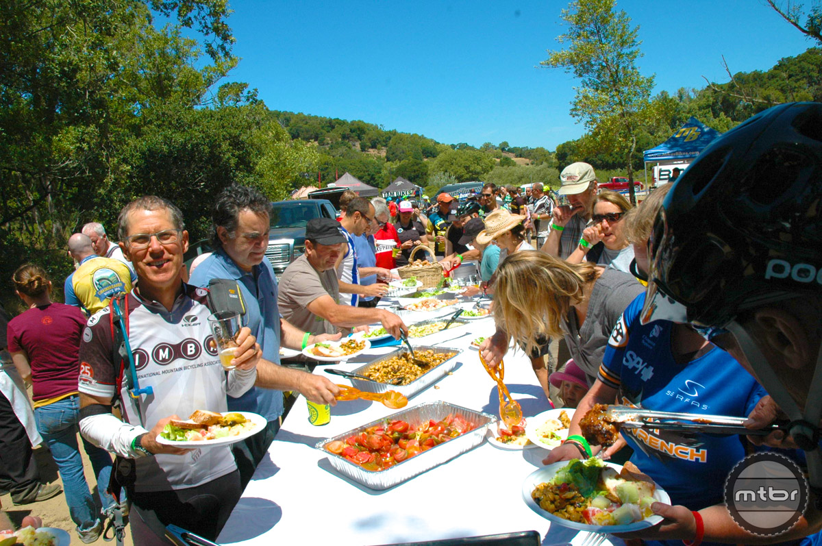 Food and drink in the name of trails