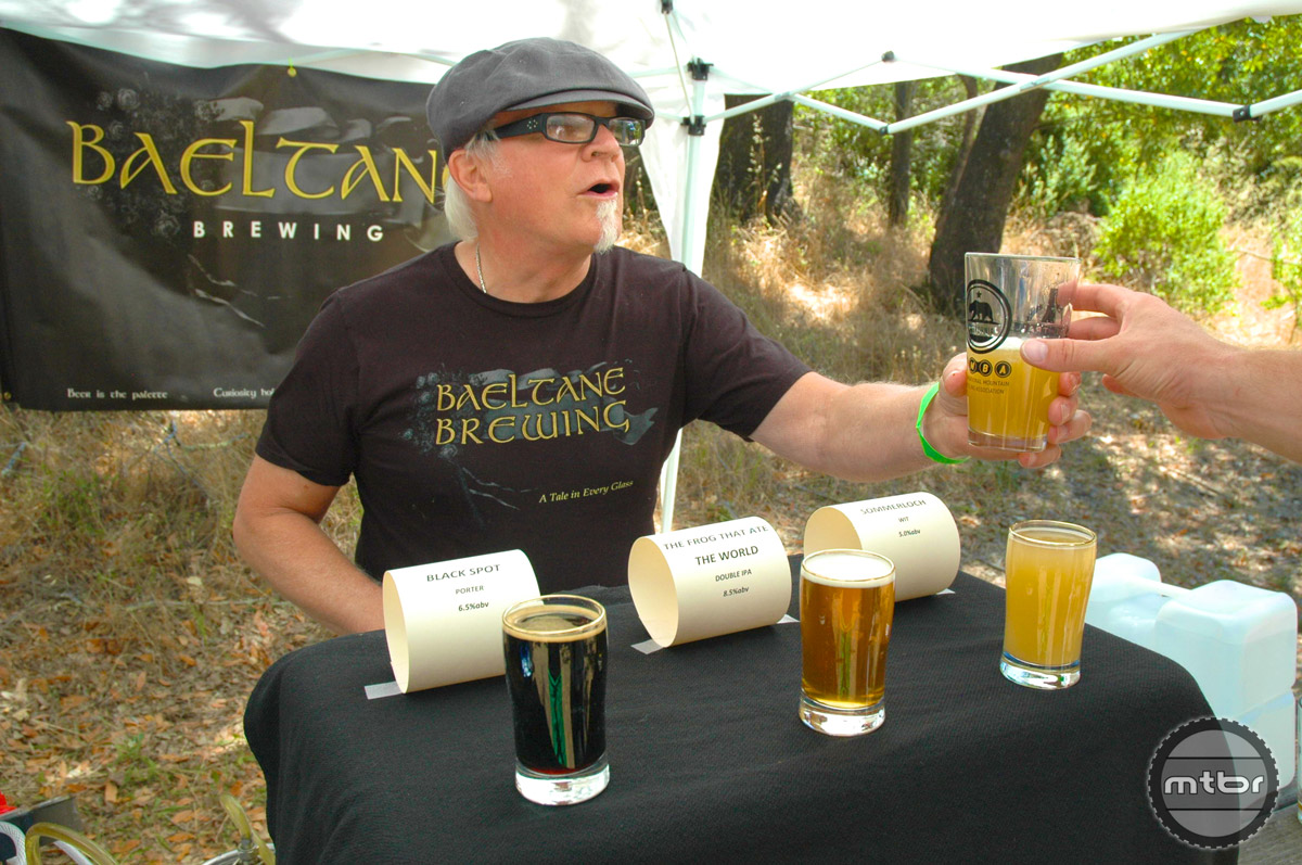 Some of the finest craft brews in the area are represented here.