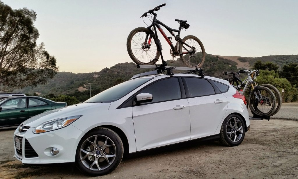Insane To Put A Hitch Rack On A Honda Fit? 2014 09