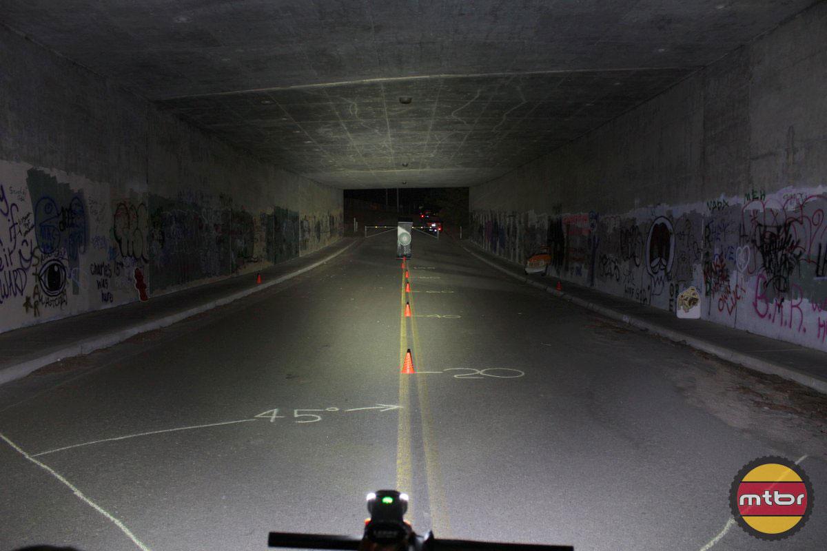 Lezyne Mega Drive - 2014 Mtbr Tunnel Test