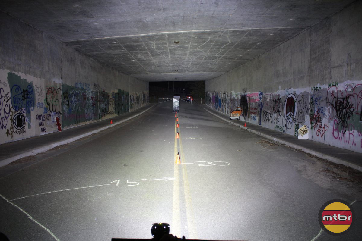 Light & Motion Seca 2000 Race - 2014 Mtbr Tunnel Test