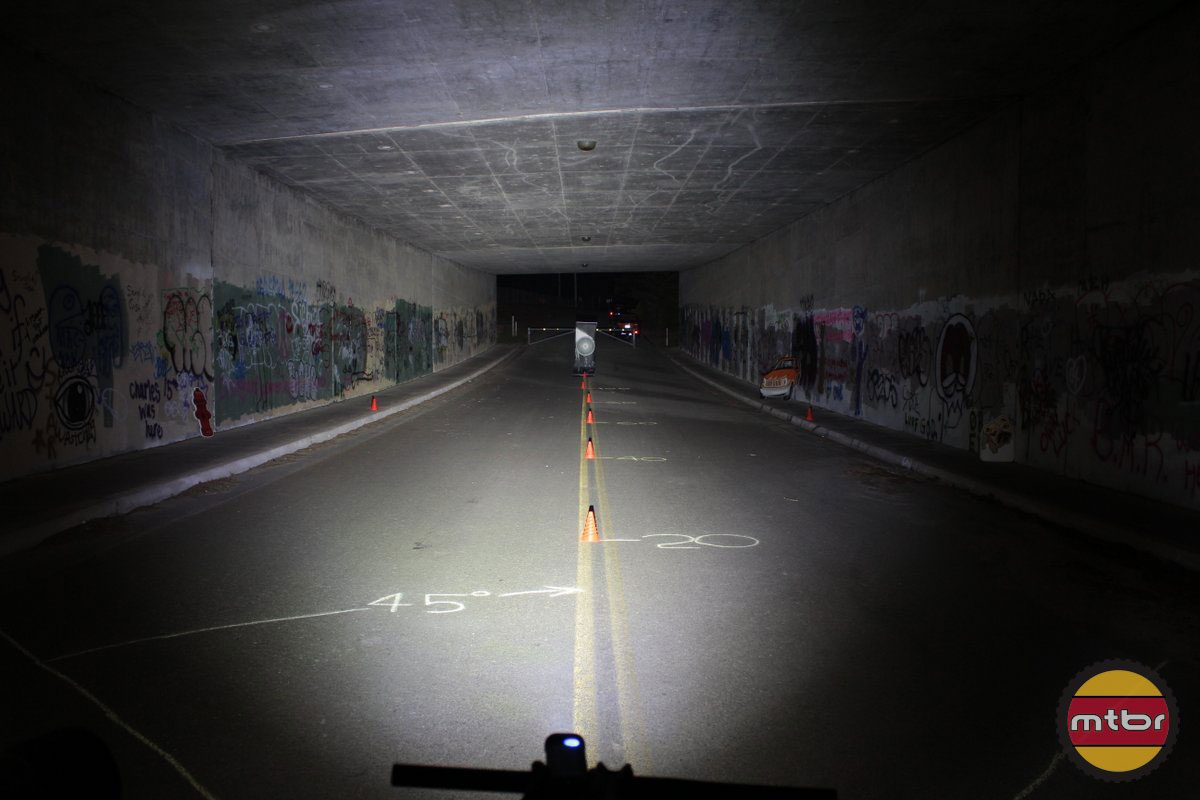 Lupine Piko TL Max and MiniMax - 2014 Mtbr Tunnel Test