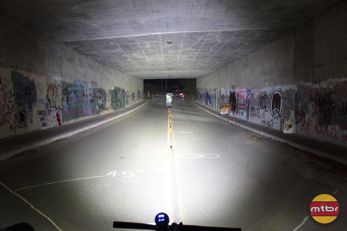 Lupine Wilma 7 - 2014 Mtbr Tunnel Test