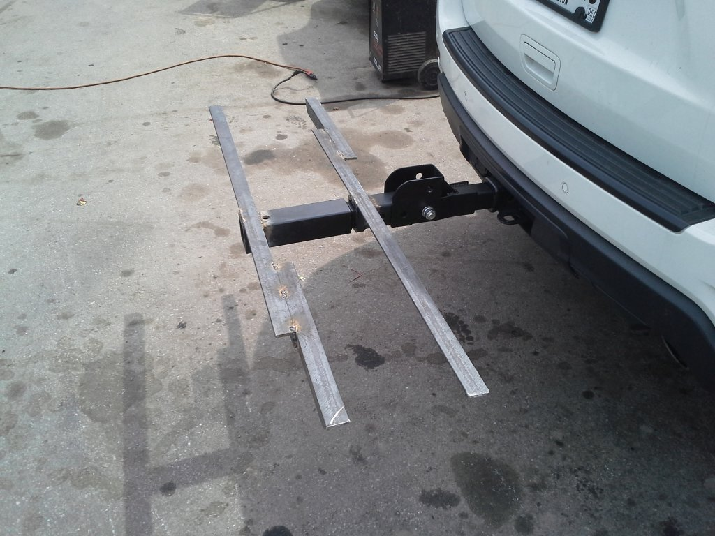 Homemade Hitch Tray Mounts Mtbr Com