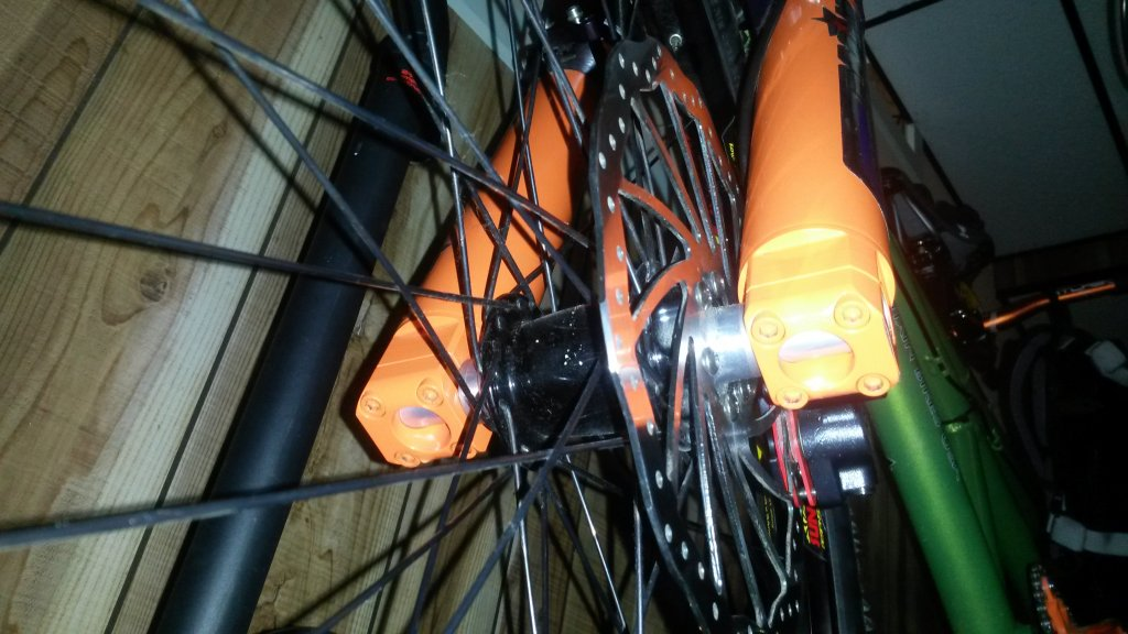Custom Tandem Roof Rack: Carries the Tandem with the Wheels On!-20140704_170802.jpg