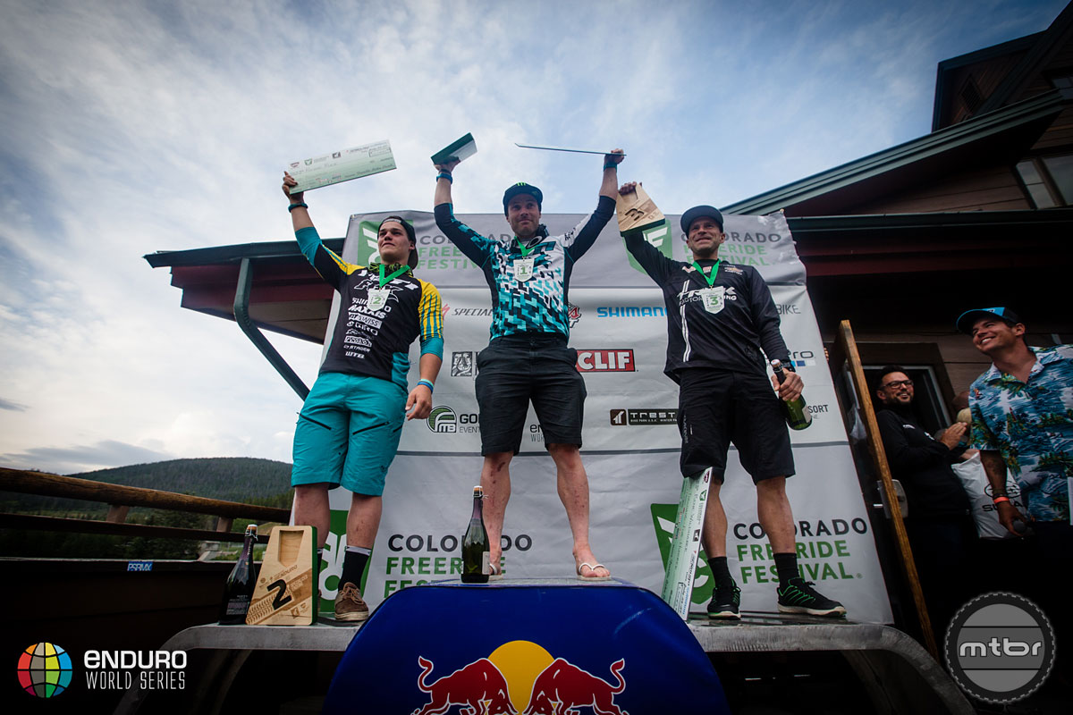EWS Day 3 Men's Podium