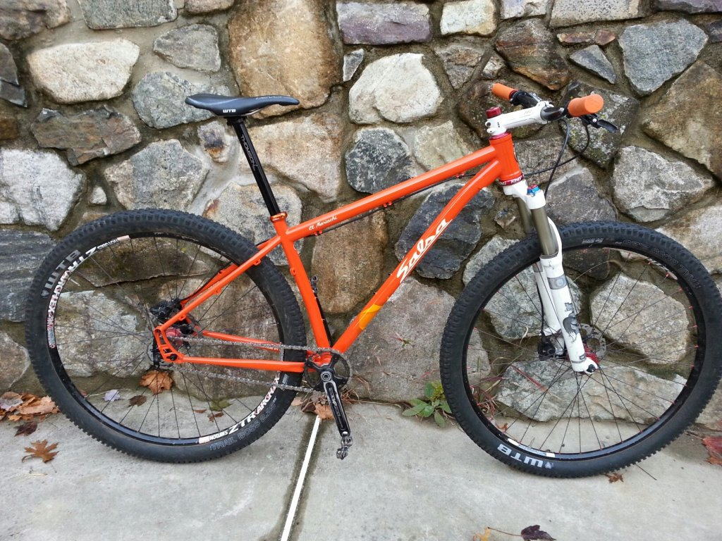First Ride Photos 2014 Salsa El Mariachi Single Speed Mtbr Com