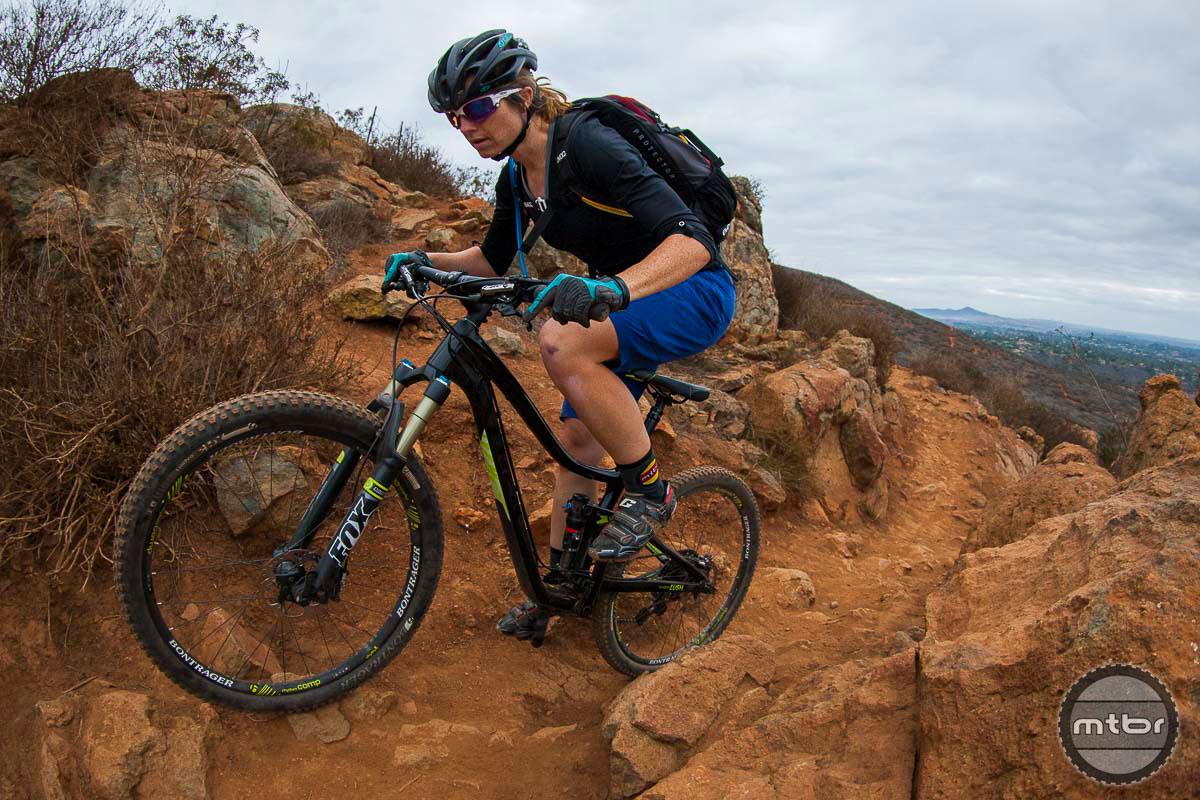 Kris Gross Tests the Carbon Lush