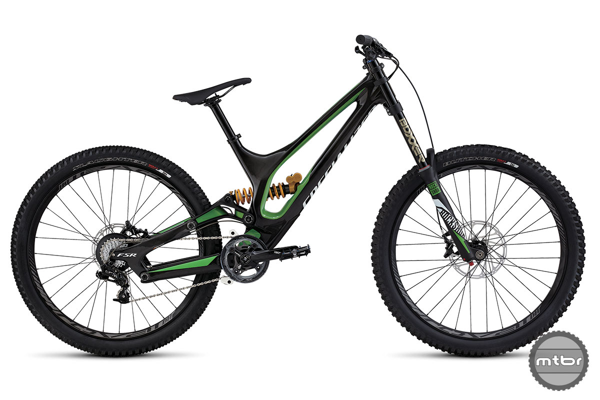 2015 Specialized Demo 650b Green Bike