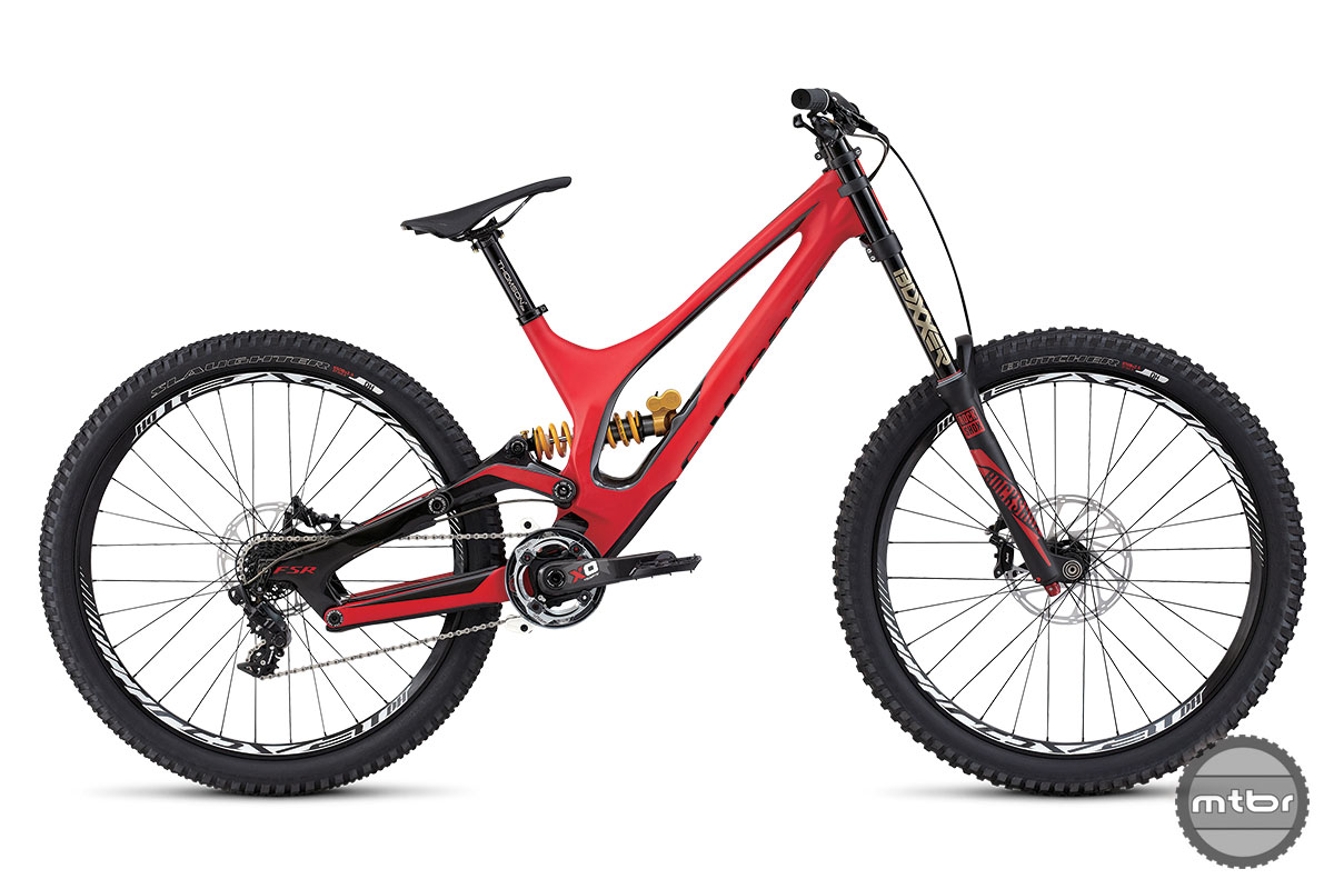 2015 Specialized Demo 650b Red Bike