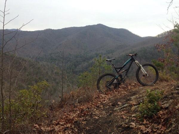 Downhill trail in Brevard-2015 Bell Built Grant-20150215-100137.jpg