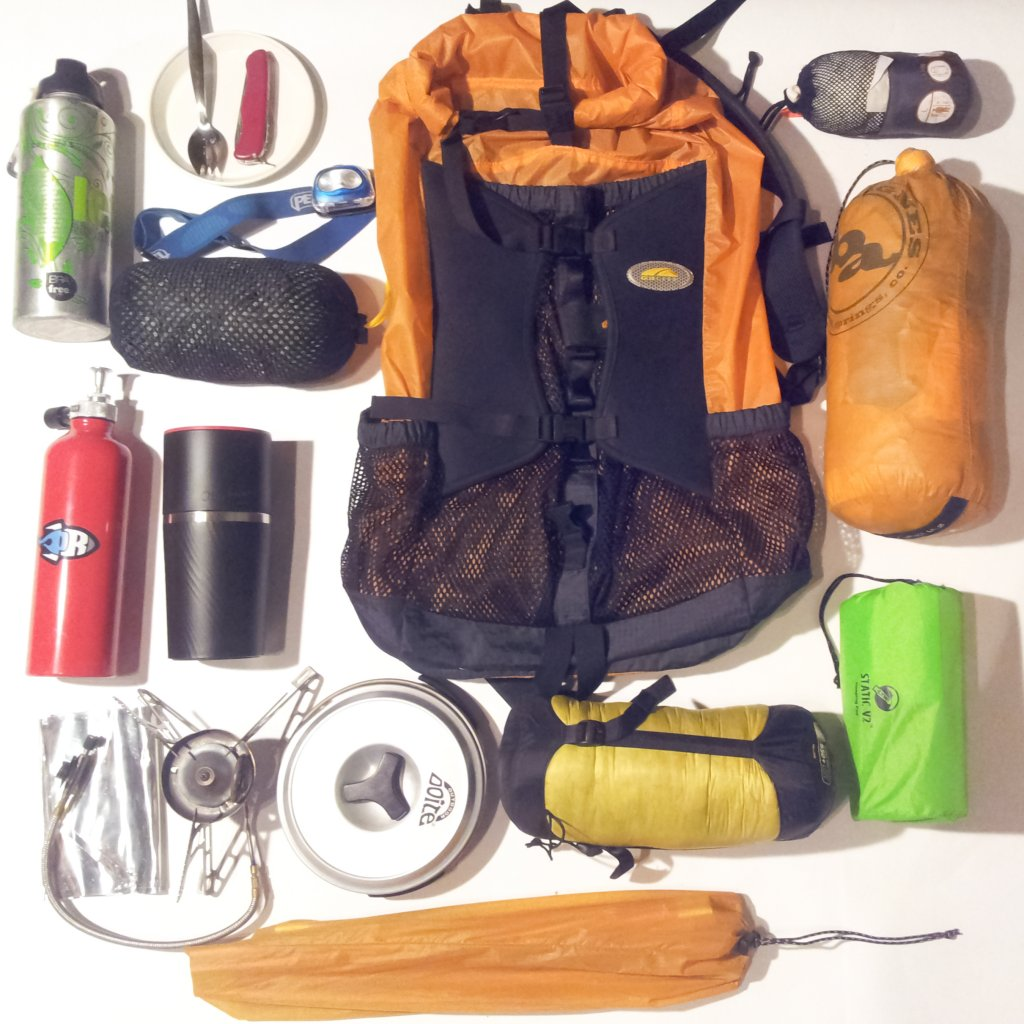 Post your Bikepacking Rig (and gear layout!)-20150324_camping.jpg