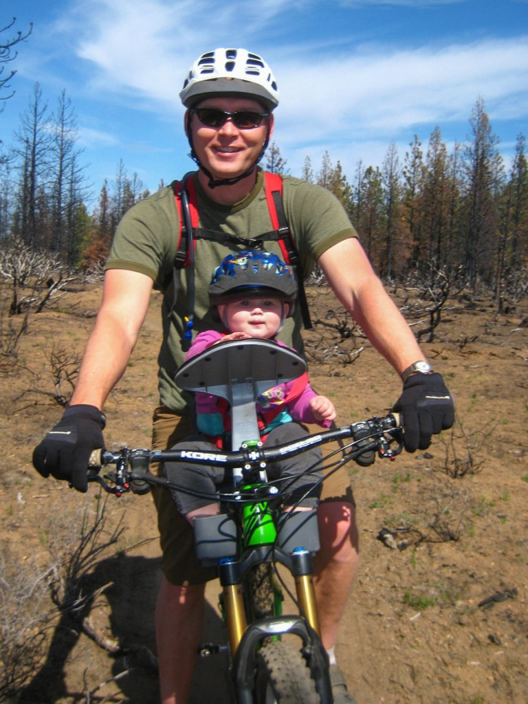 Child Seat On A Mountain Bike Mtbr Com
