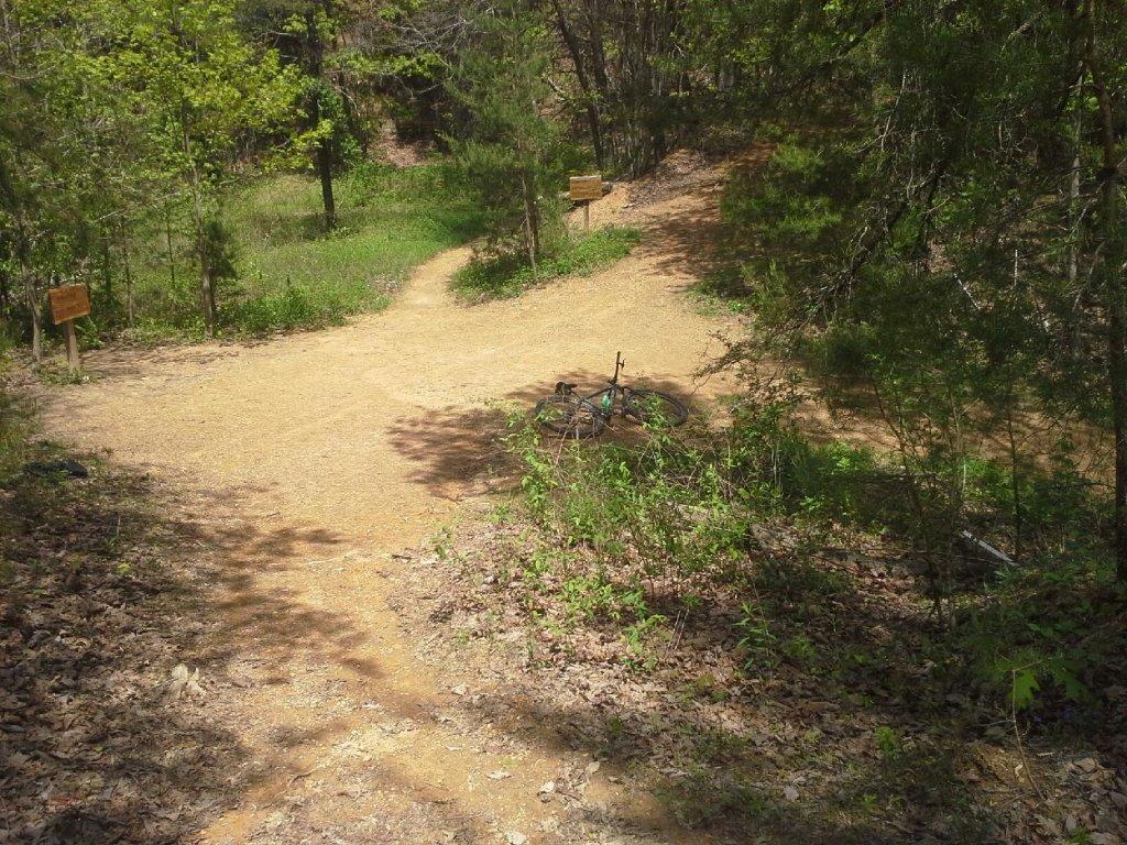 Bike + trail marker pics-20150424_132925.jpg