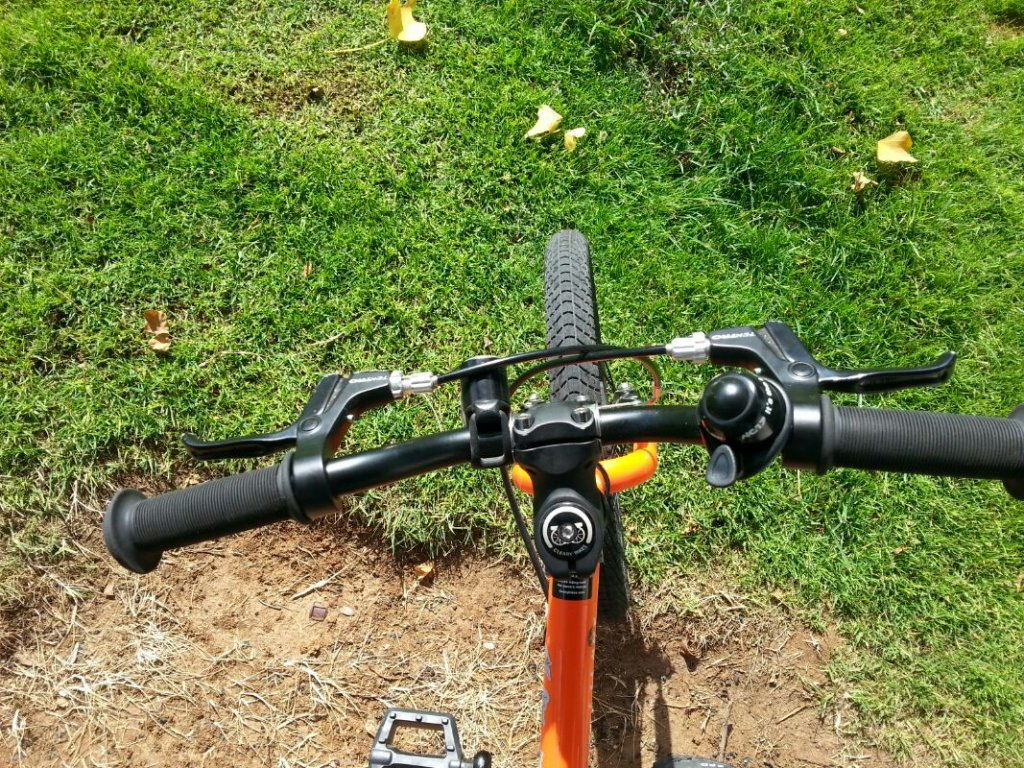 """Cleary Hedgehog """"No Backsweep"""" handlebar: problem and solution-20150703_092055_resize_20150703_150211.jpg"""