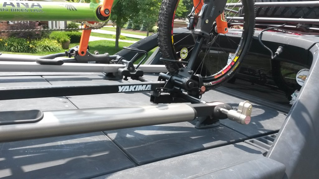 Custom Tandem Roof Rack: Carries the Tandem with the Wheels On!-20150711_132100.jpg