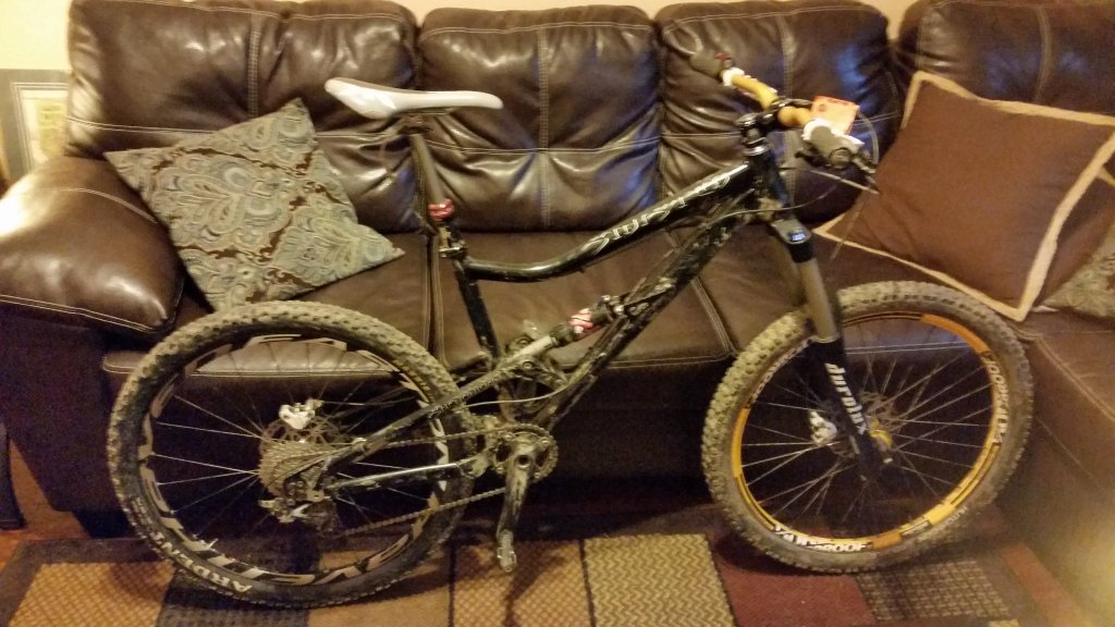 My New All Mountain Steed:  Sinister - Shenanigan-20151028_165636.jpg