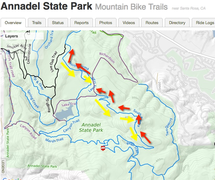 Annadel route recommendations for a first ride- Mtbr.com