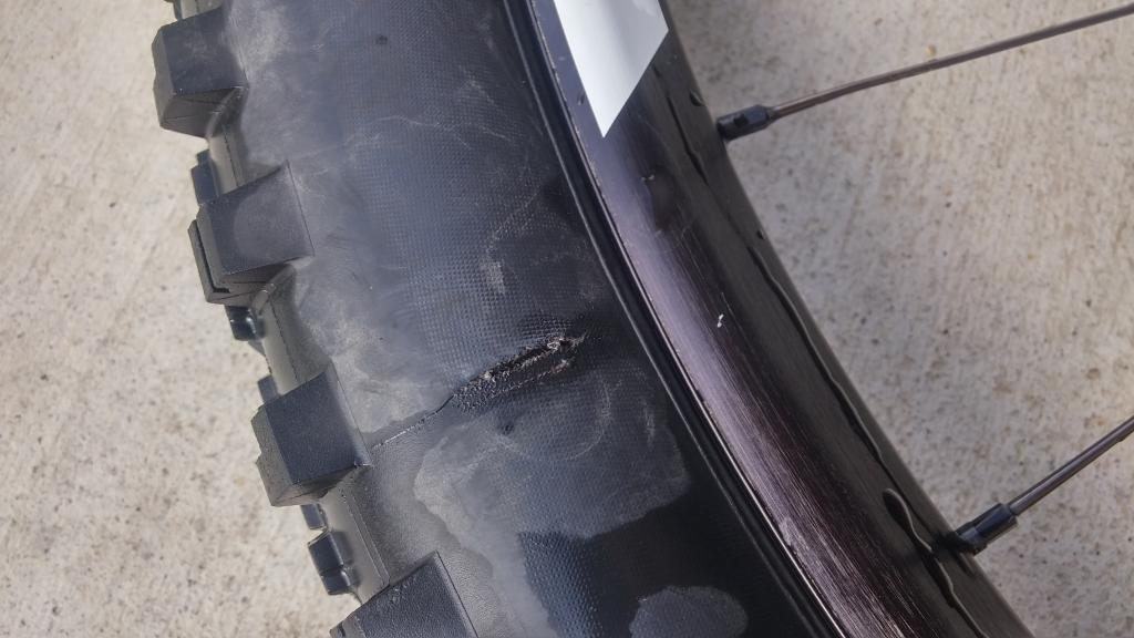 fixing hole in tire sidewall