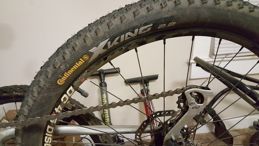 Cannondale Trail SL4 2011 --IN NEED OF REPLACEMENT FRONT FORK---What to buy?-20160502_211110.jpg
