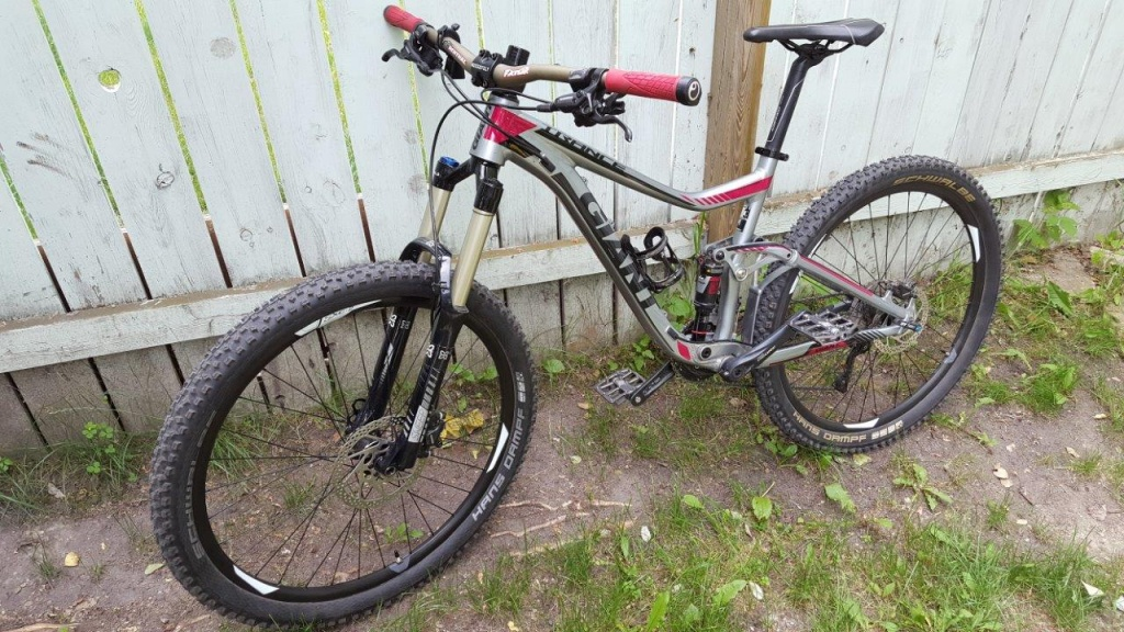 904c4f42a1d Weight: 32.4 lbs 2014 Giant Trance SX reviews and setup  info-20160624_094525.jpg ...