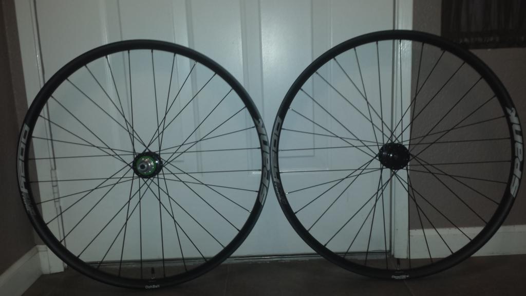 "29"" Wheelset Hope Pro 4 Spank Oozy 345 Sapim Spoke & Nipples 15x100 12x142 XD-20161101_180407-min.jpg"