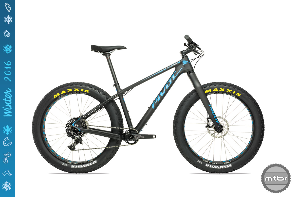 The LES Fat comes with a rigid carbon fork or...