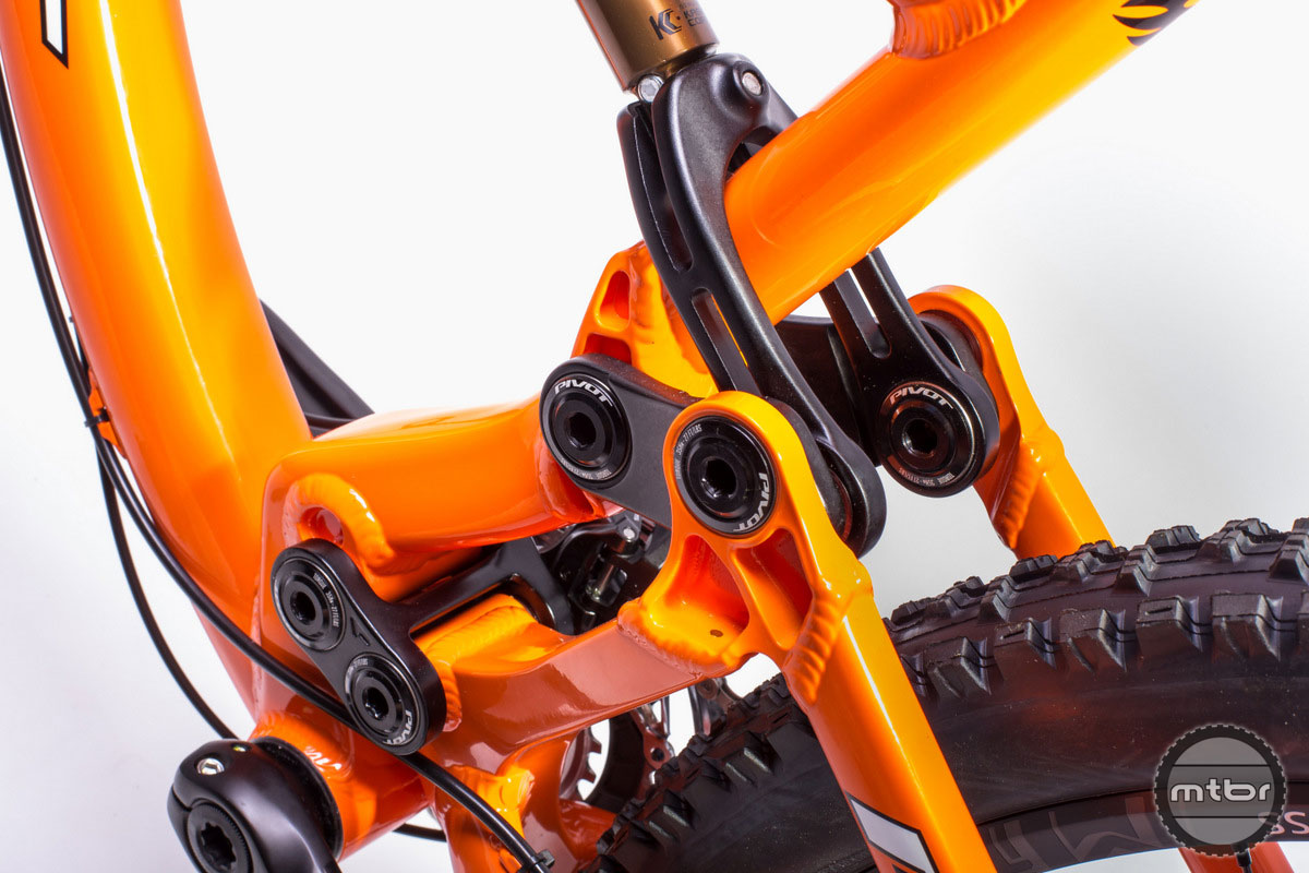 The new, redesigned clevis is now lighter, stronger and provides increased clamping force on the shock body.