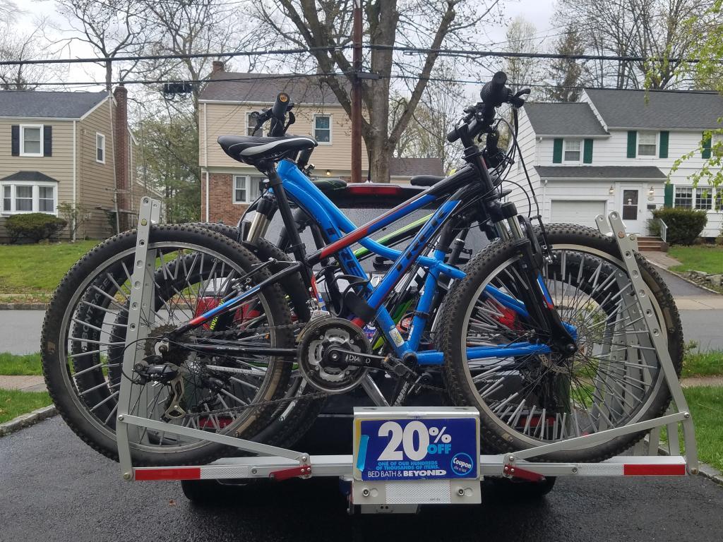 Hitch mounted bike rack for fat bikes-20170422_161850.jpg