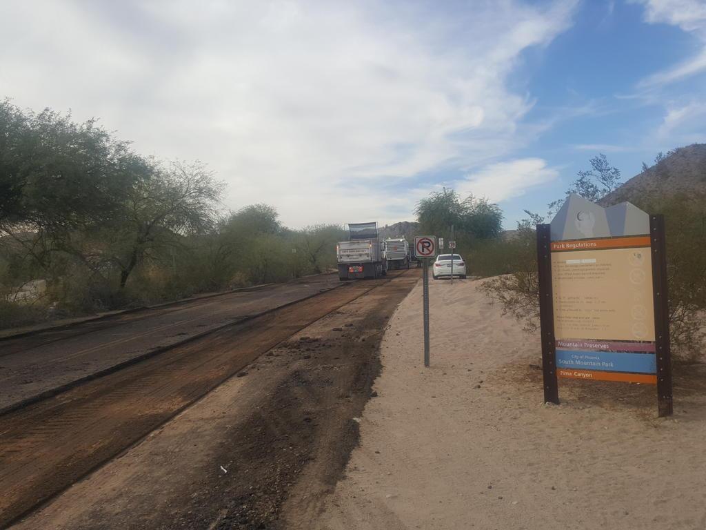 Is Pima Canyon Trailhead still closed?-20171212_130423.jpg