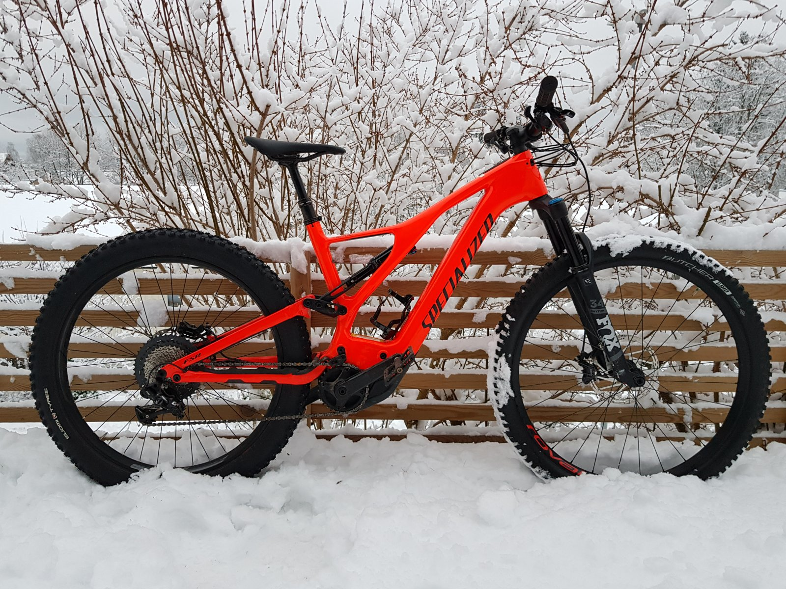 Assist comes in handy in snow conditions. But a frozen ebike battery delivers less range.