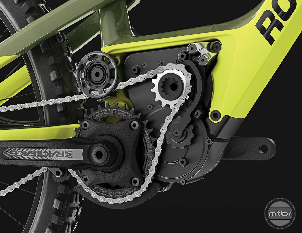 2018 Altitude Powerplay Closeup Motor