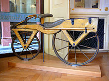 Name:  220px-Draisine_or_Laufmaschine,_around_1820._Archetype_of_the_Bicycle._Pic_01.jpg Views: 1167 Size:  19.1 KB
