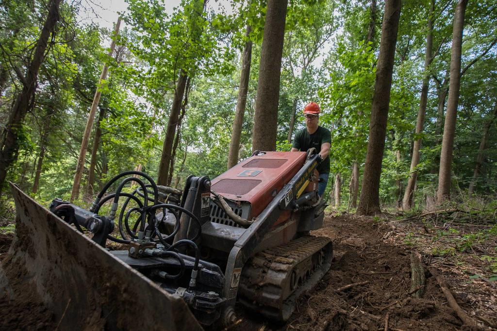 Backyard Trail Building: Best mechanized tool for cutting new trail