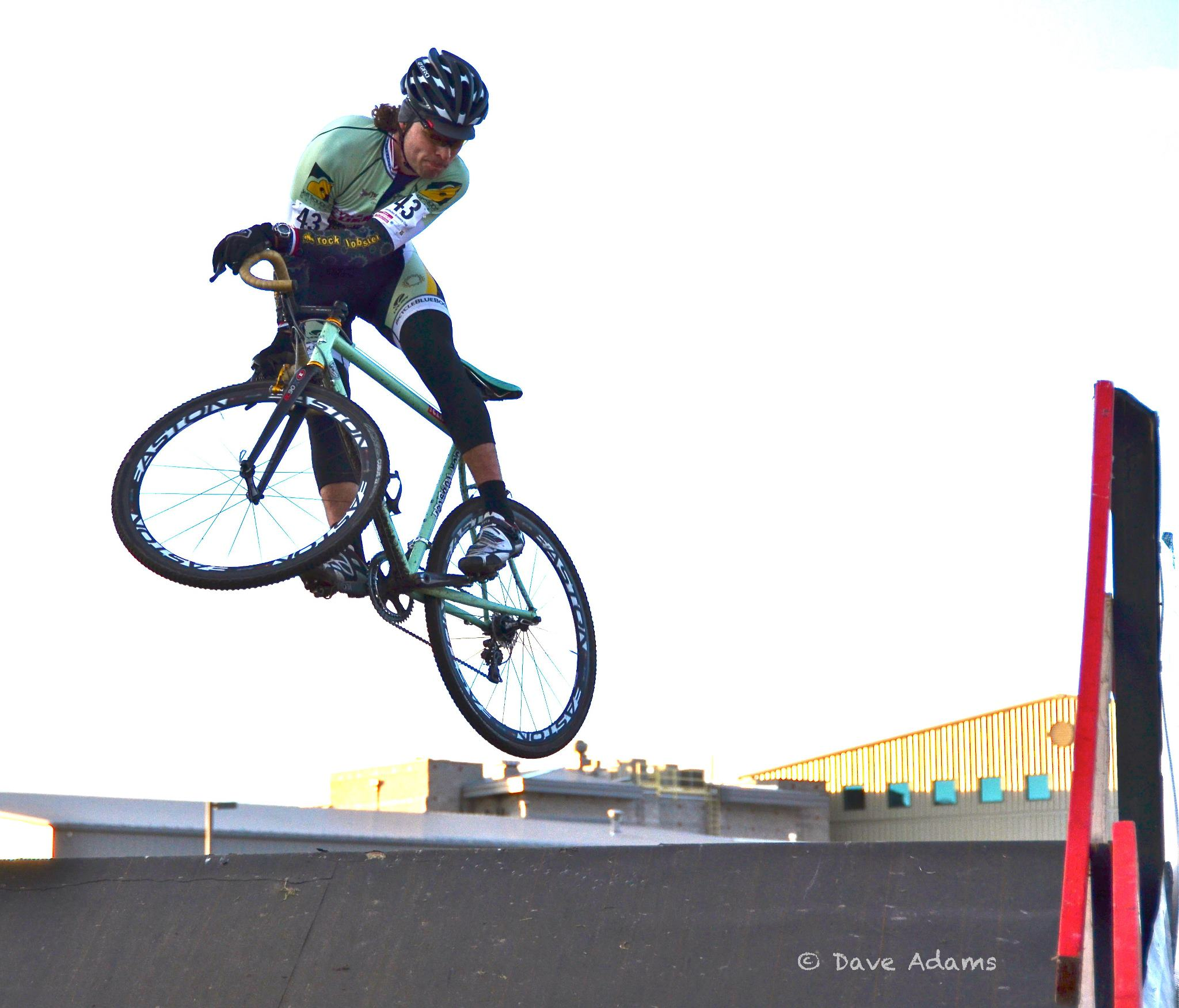 Aaron Bradford Cross Bike Jump